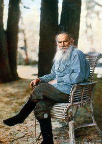 L.N.Tolstoy by Prokudin Gorsky