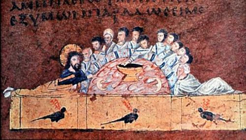 Rossano Gospel's Last Supper