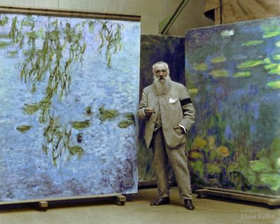 Clause Monet in 1923