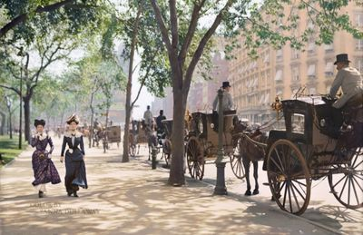 Madison Square Park Around 1900