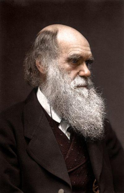 Charles Darwin Color