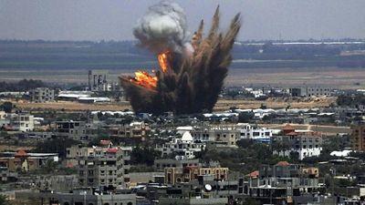 Strike in Gaza - Reuters
