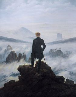 Wanderer in a Sea of Fog by Caspar David Friedrich