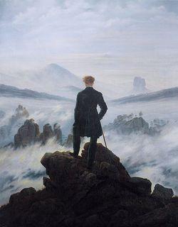 Wanderer in a Sea of Fog by Caspar David Friedrich