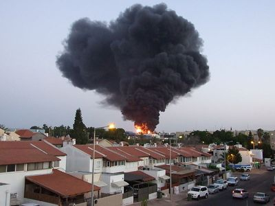 Sderot Burning Factory