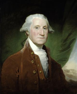 George Washington by Gilbert Stuart, 1795 96