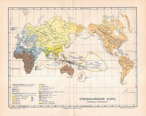 Ethnographishe Karte