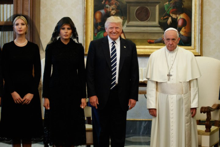 Francis and Trump