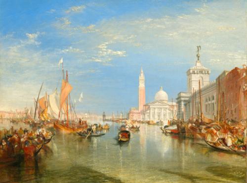 Venice The Dogana and San Giorgio Maggiore by JMW Turner