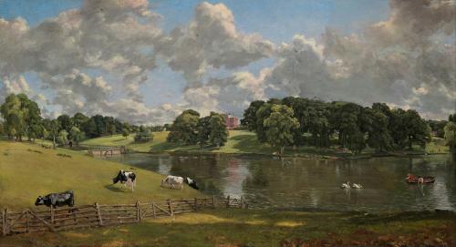 Wivenhoe Park by John Constable